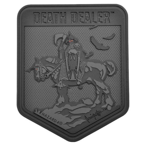 Hazard 4 Patch Caoutchouc Death Dealer noir