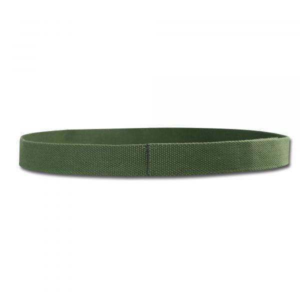 Ceinture Velcro verte olive
