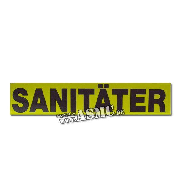 Autocollant PVC Sanitäter