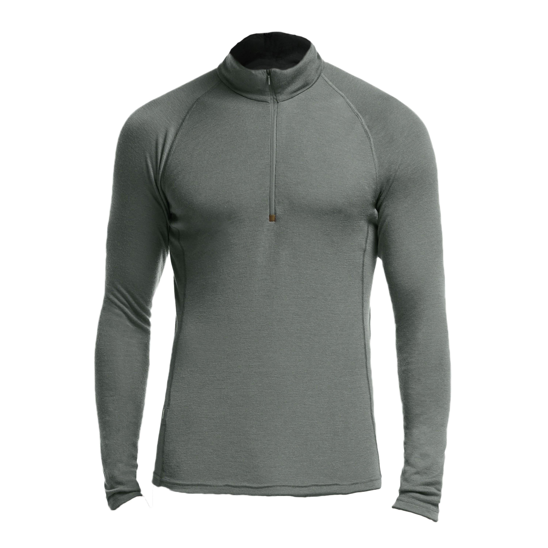 Shirt manches longues Icebreaker Everyday LS Demi-Zip Merino gri