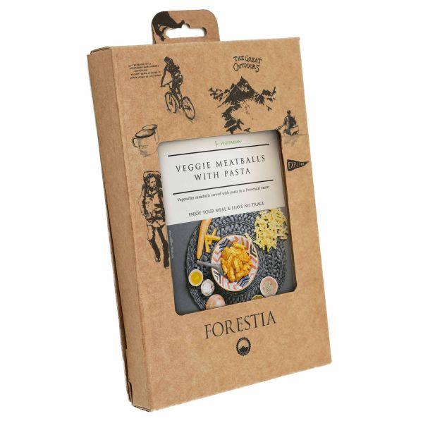Forestia Boulettes de légumes avec pâtes