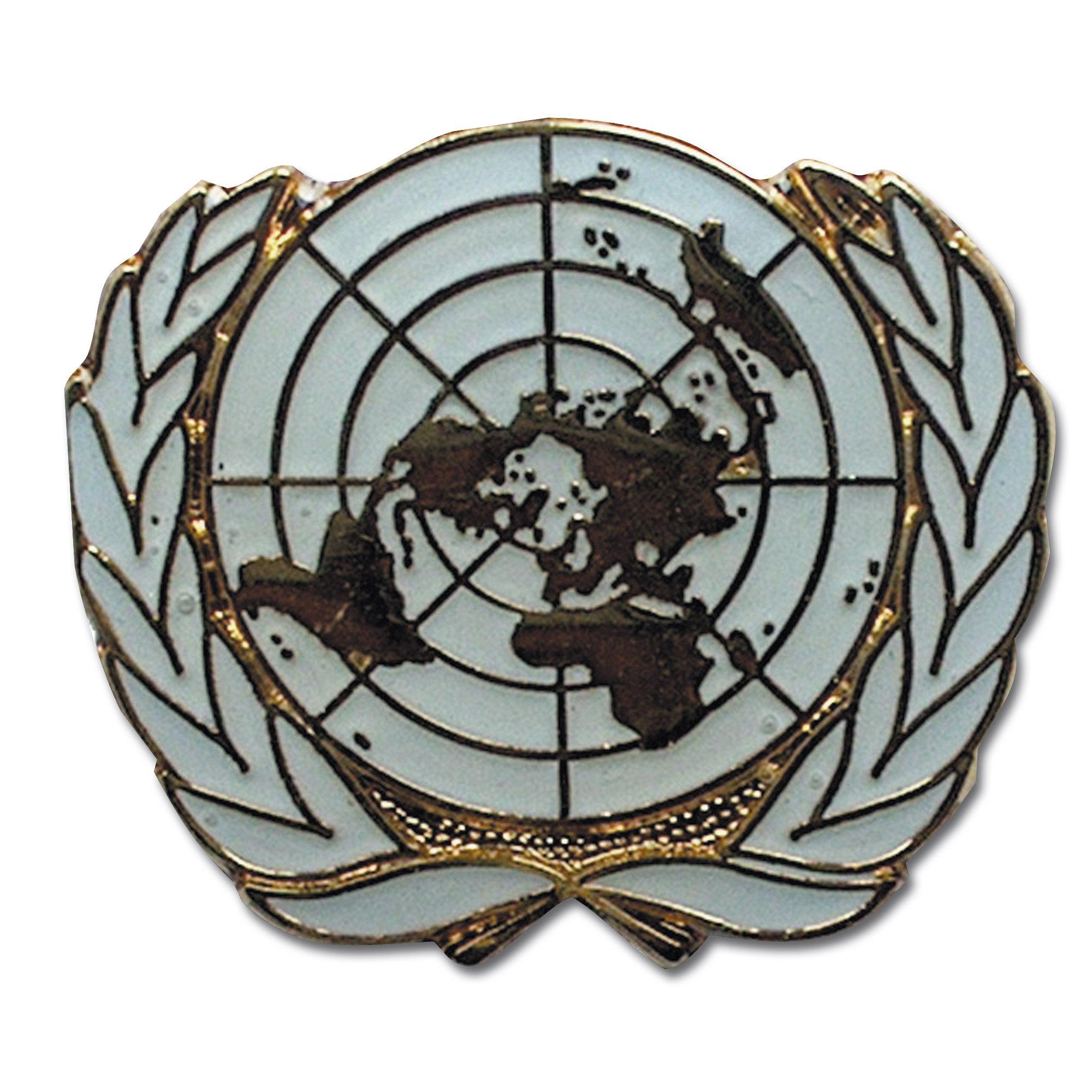 Pin mini métallique ONU