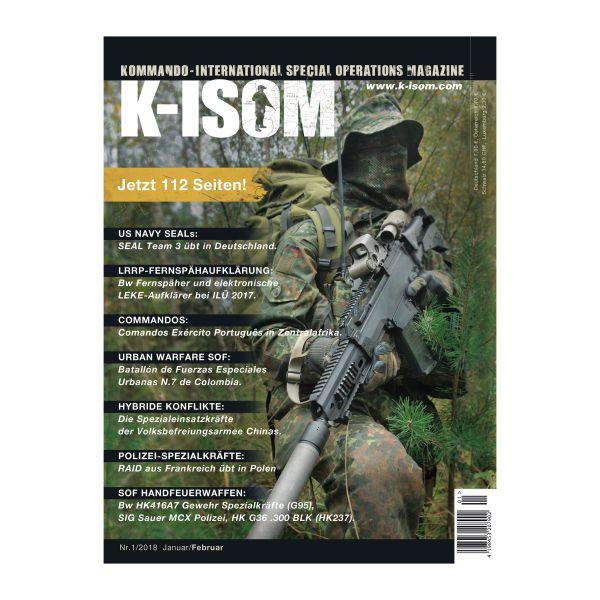 Magazine Kommando K-ISOM Édition 01-2018