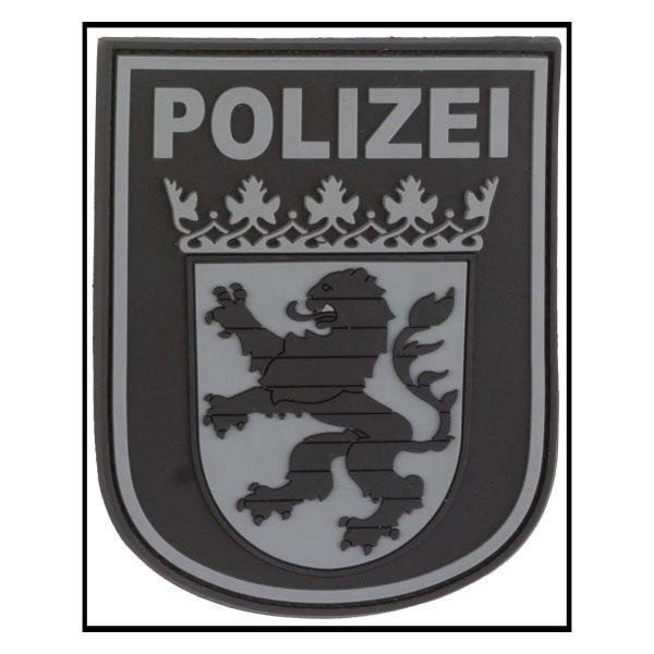 Patch 3D Insigne Police Hesse blackops