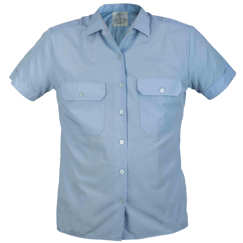 Chemise de service BW manches courtes Femmes bleu occasion