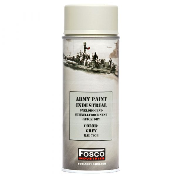 Fosco Bombe de peinture Army Paint 400 ml gris