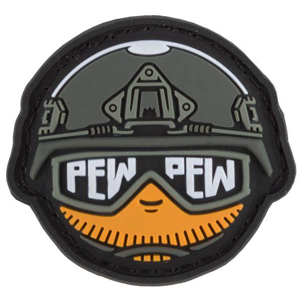 TacOpsGear Patch 3D PVC Tacticons Nr.25 Pew Pew Smiley Emoji