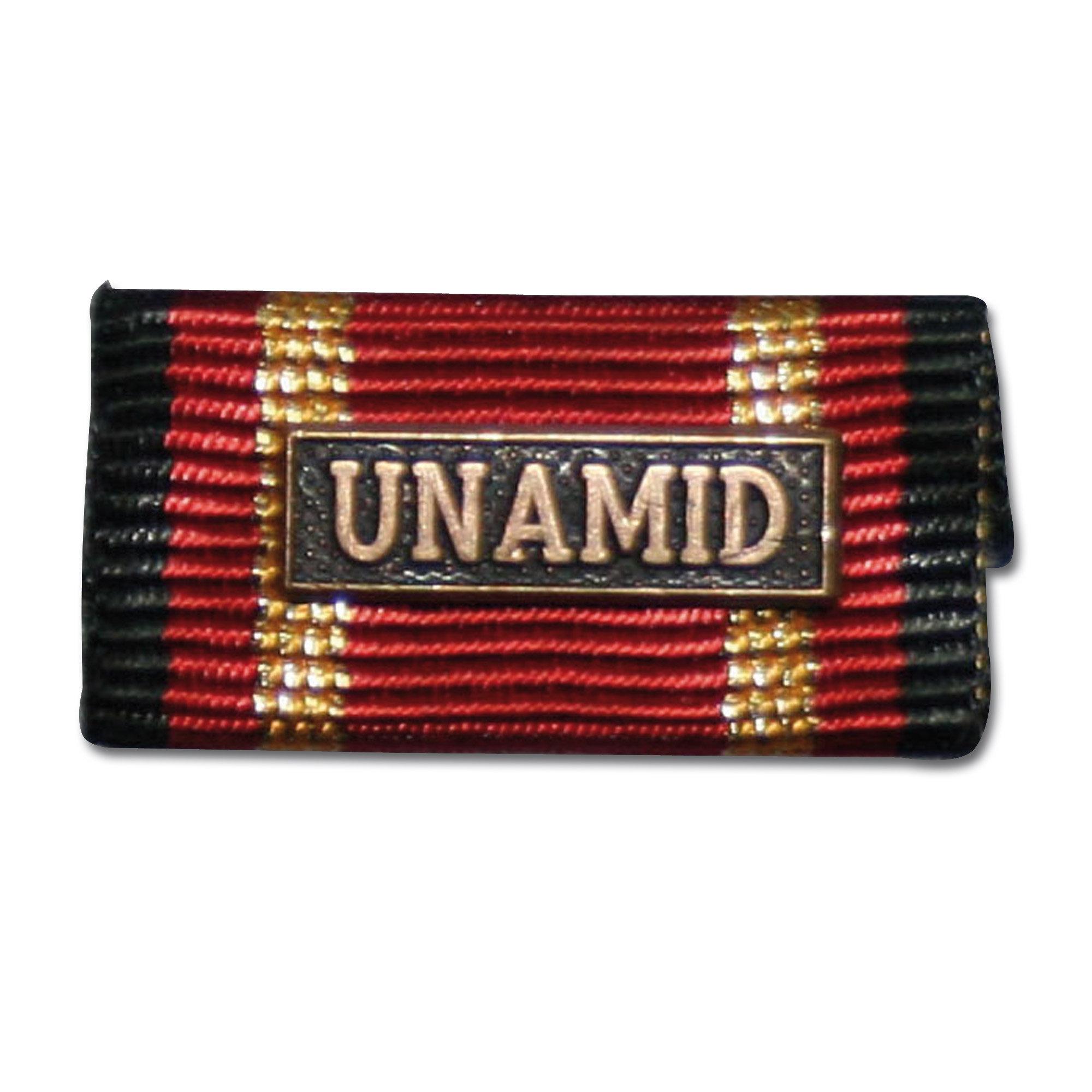 Insigne Pin intervention à l'étranger UNAMID bronze