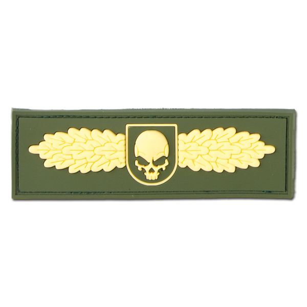 Patch 3D SOF Skull Badge or