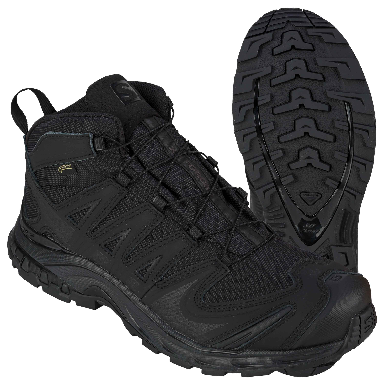 chaussure salomon xa force mid noir
