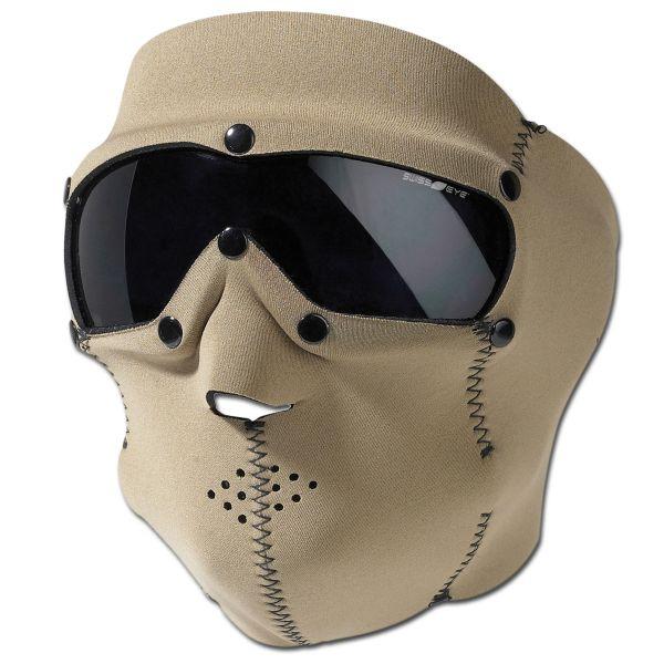 Masque de protection Swiss Eye Neopren Pro coyote