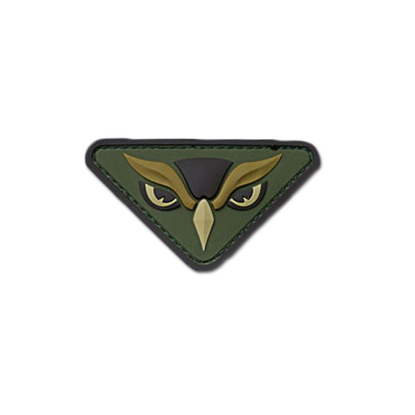 Patch MilSpecMonkey Owl Head multicam