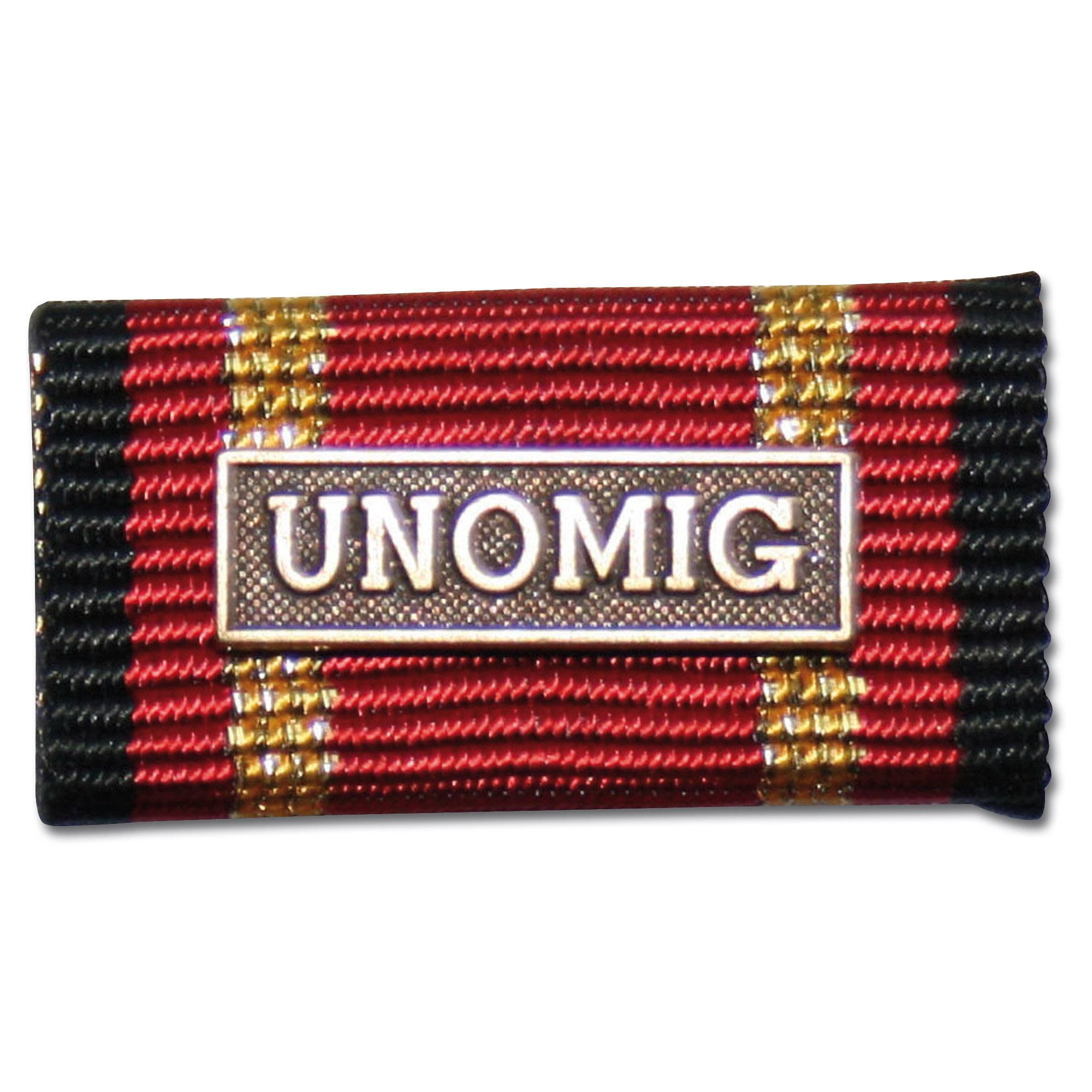 Insigne Pin intervention à l'étranger Unomig bronze