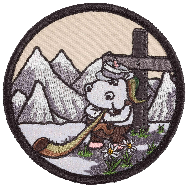 Café Viereck Patch Licorne chasseur alpin