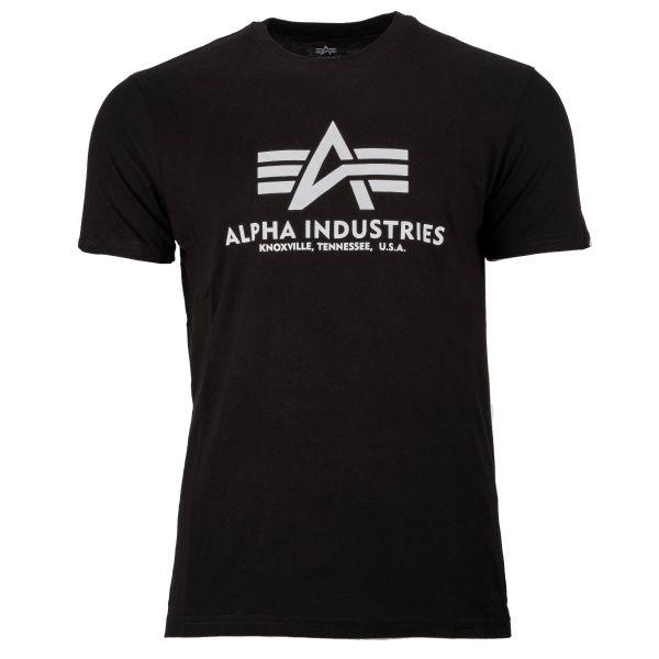 T-shirt Alpha Industries Basic noir