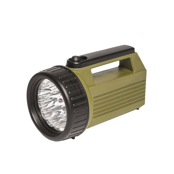 Projecteur 19 LED 4D olive