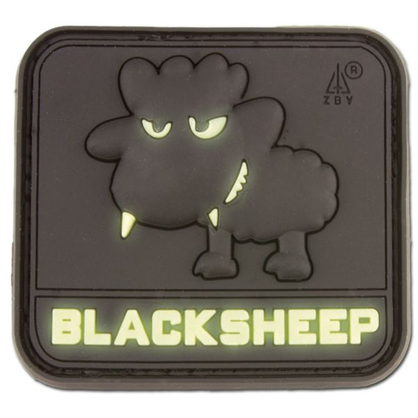 Patch 3D BlackSheep luminescent petit