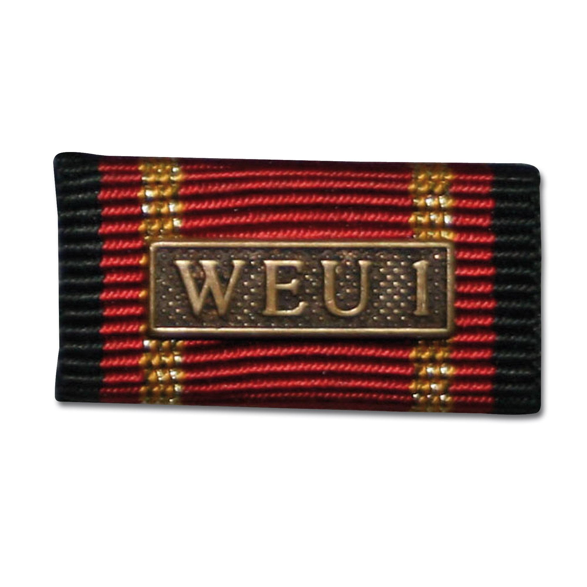 Insigne Agrafe Auslandseinsatz WEU 1 bronze