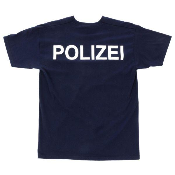 T-Shirt Polizei bleu