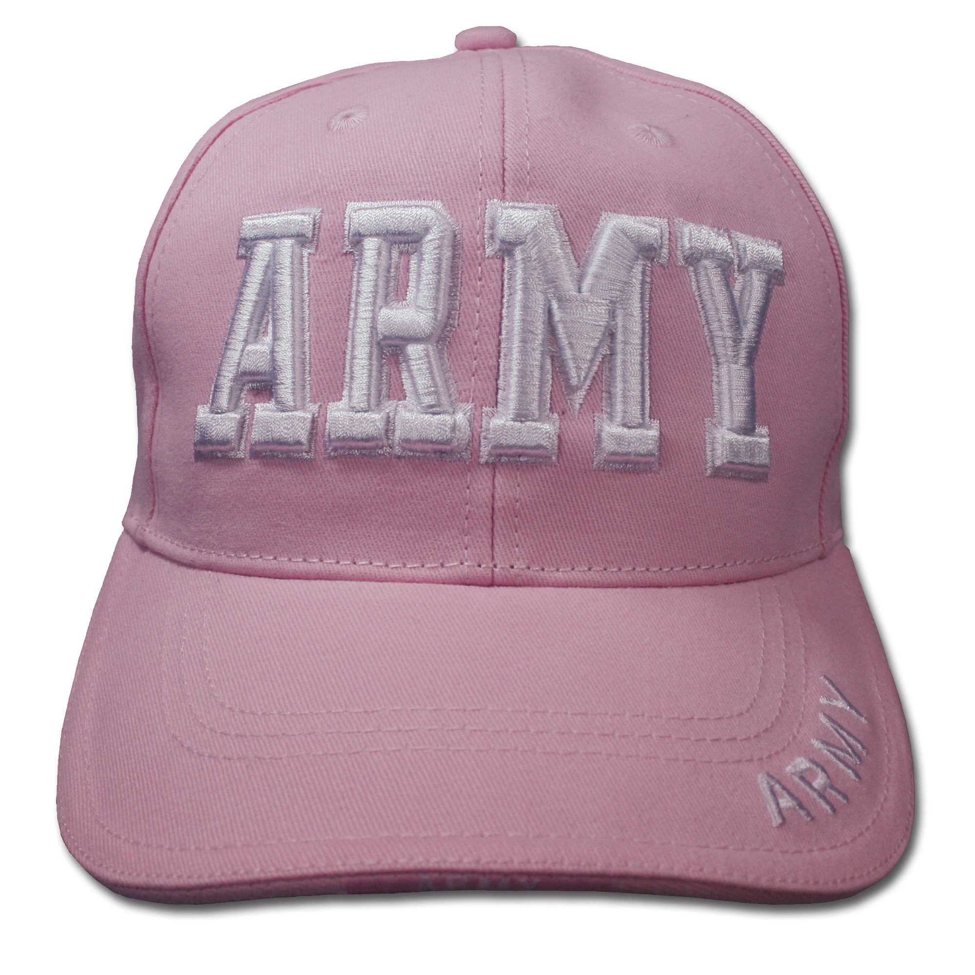 Casquette Baseball ARMY pink