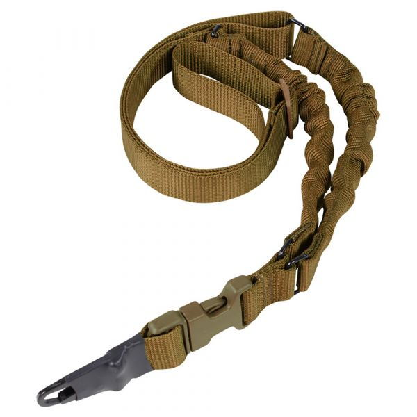 Condor Double Bungee One Point Sling brun coyote