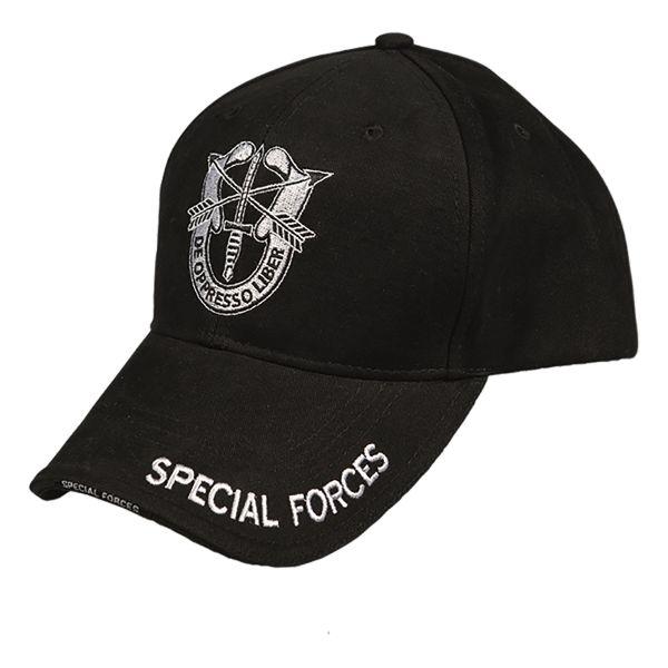 Casquette SPECIAL FORCES noir