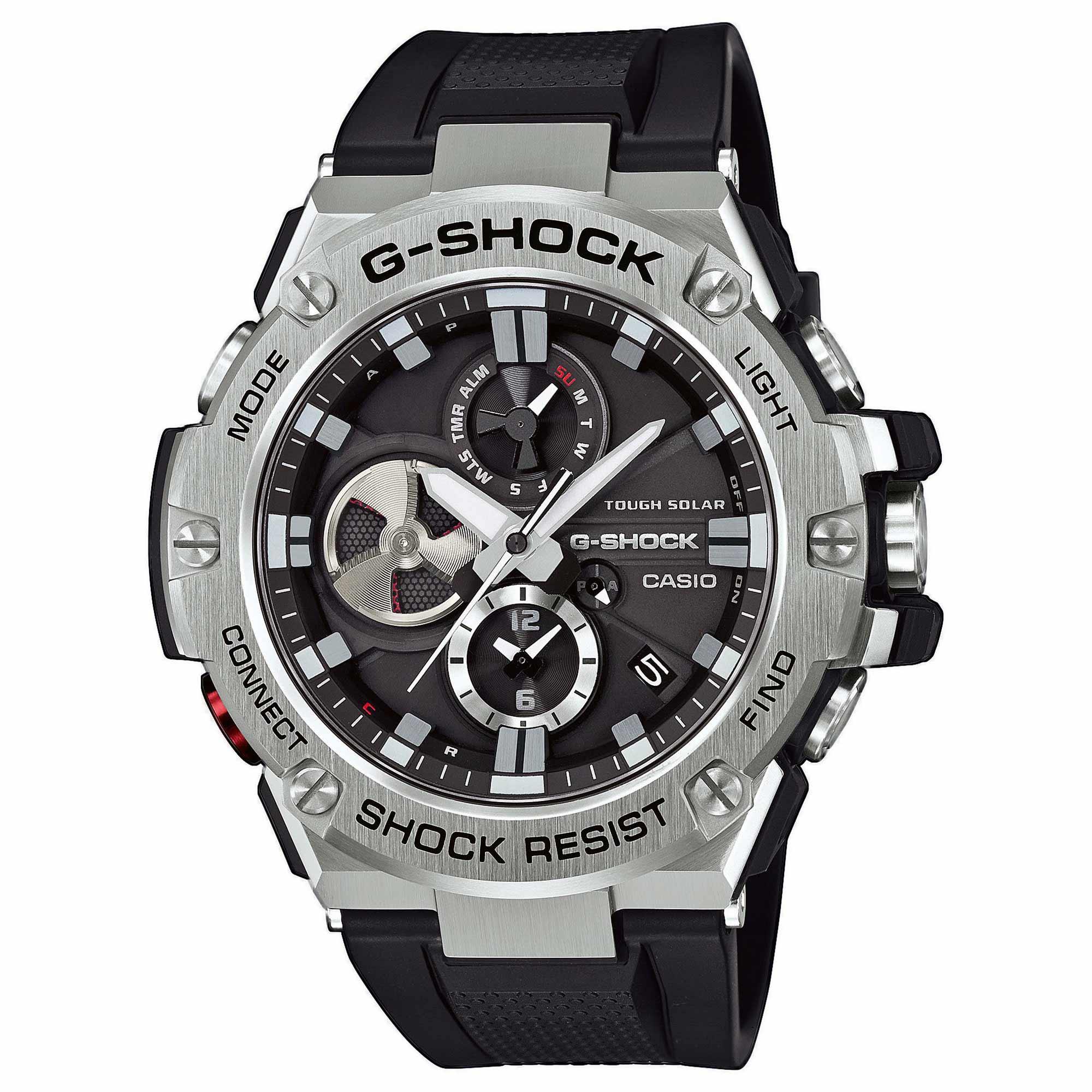 Acheter Casio Montre G Shock G Steel GST B100 1AER argent noir c  PzAXh