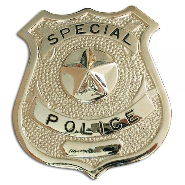 Insigne Special Police argent