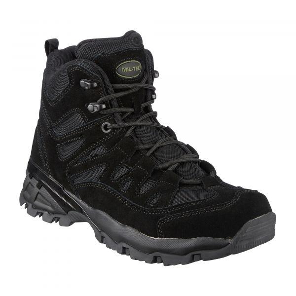 Mil-Tec Bottes Paratrooper noir