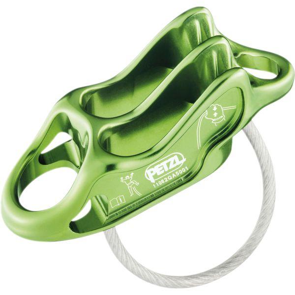 Petzl Assureur-descendeur Reverso 4 apple green