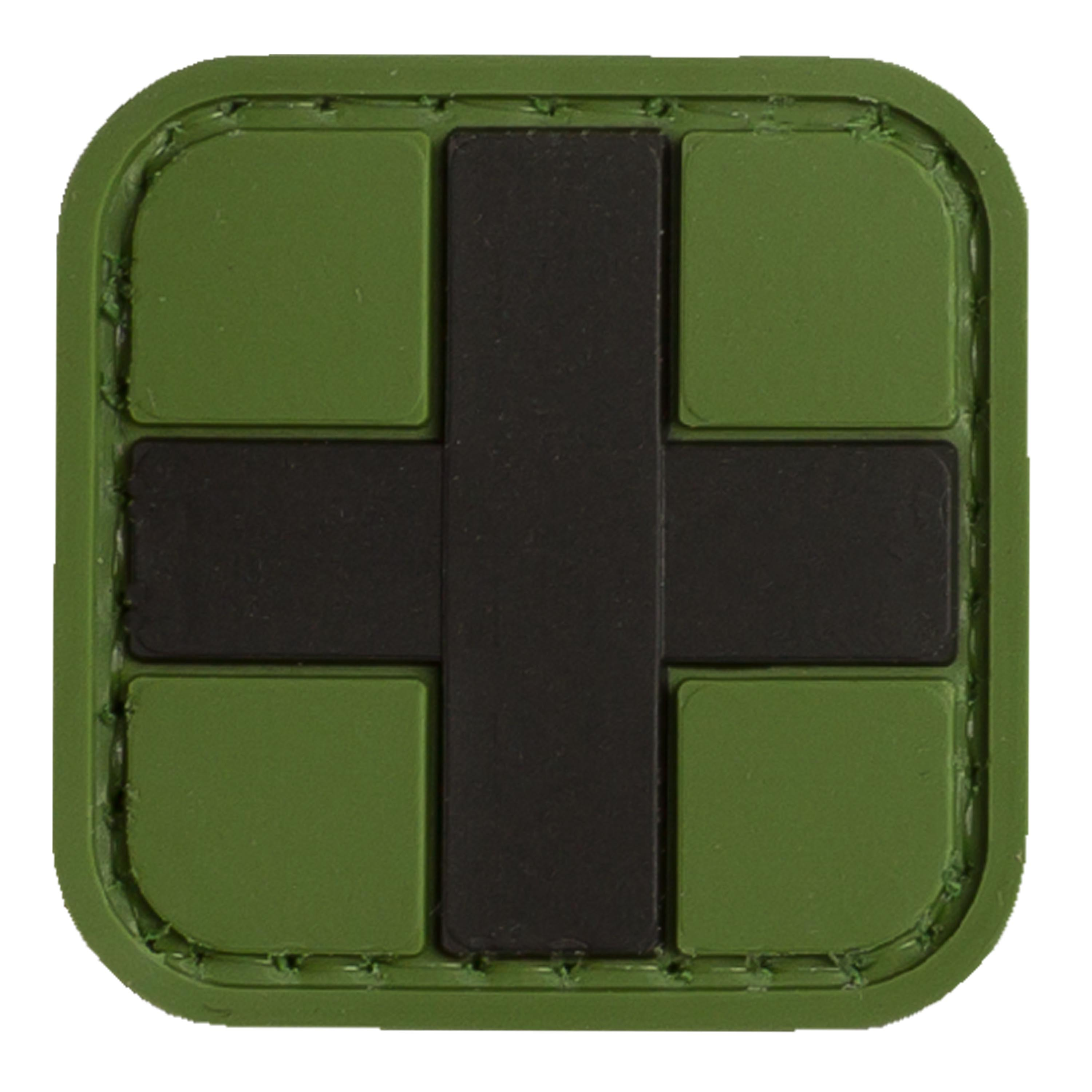 Patch 3D Red Cross Medic TAP forest 25 mm