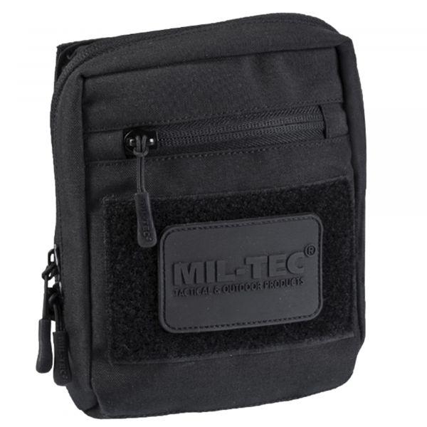 Mil-Tec Sacoche Multipurpose avec velcro au dos noir