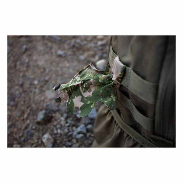 Ghosthood Accessoire de camouflage 12 feuilles oak green