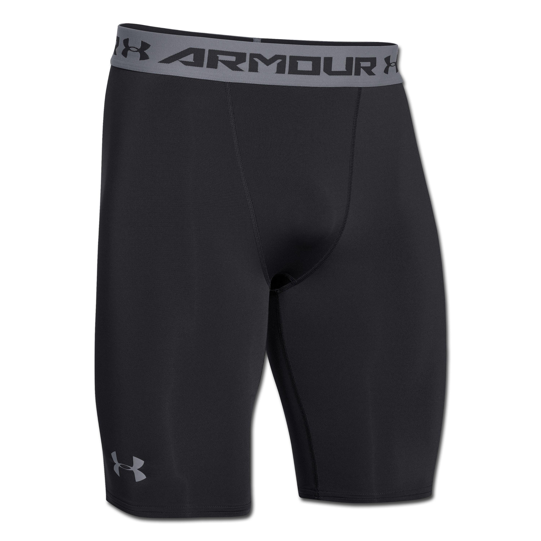 Shorts long Compression Under Armour HeatGear ARMOUR noir