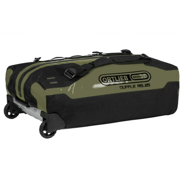 Ortlieb Sac à roulettes Duffle RS 85 litres olive