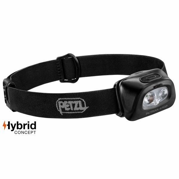 Petzl Lampe frontale Tactikka +RGB noire