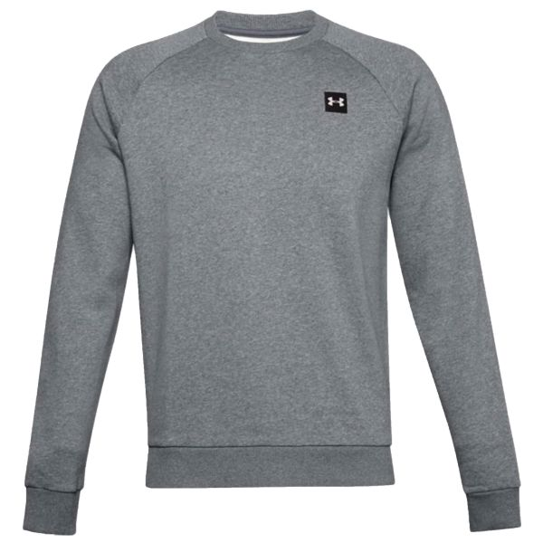 Under Armour Pull Rival Fleece Crew pitch gray