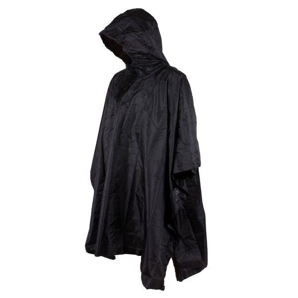 Poncho de pluie noir