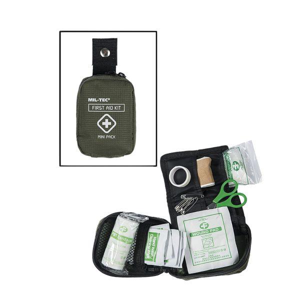 Kit de Premier Secours Mini olive