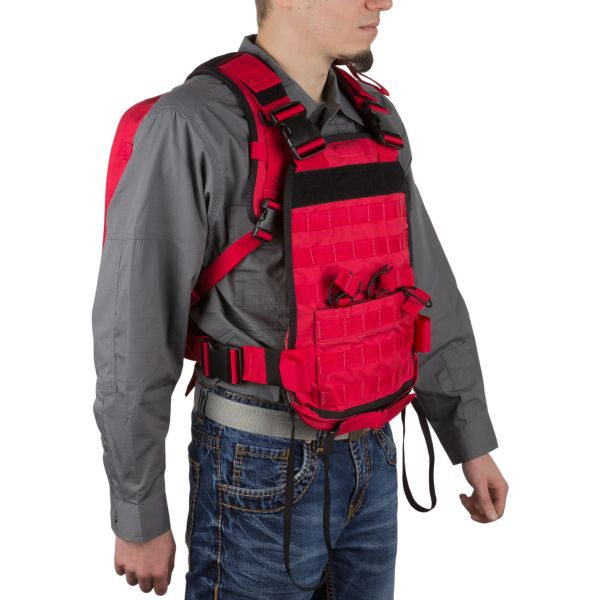 Wraith Tactical Sac à dos CARR Pack rouge