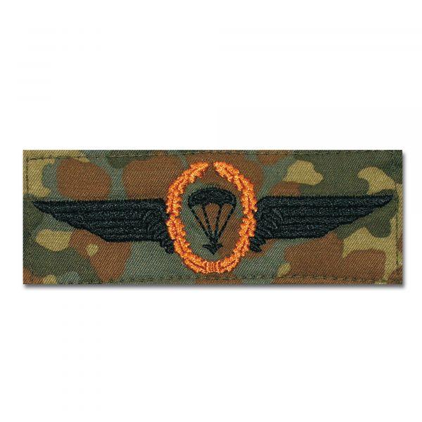 Insigne Fallschirmspringer BW bronze/flecktarn