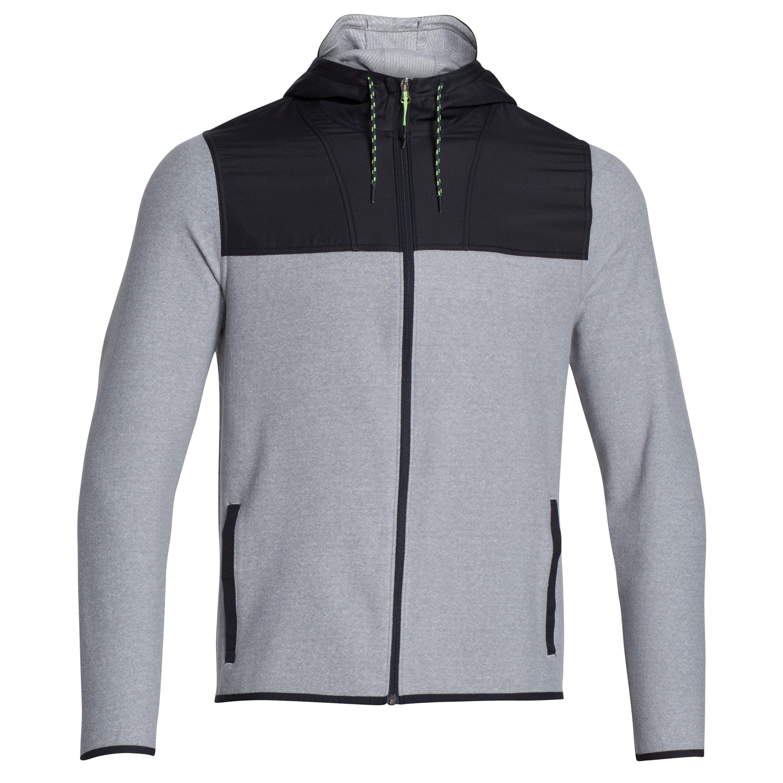 Sweatshirt Under Armour CGI Performance FZ gris