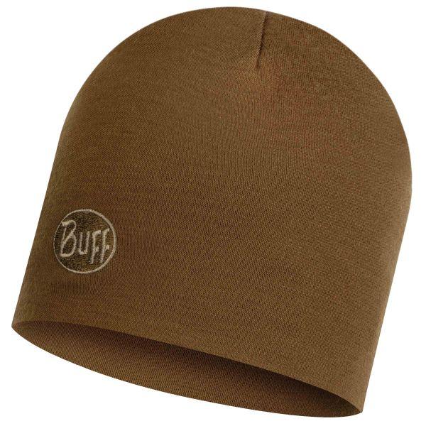 Buff Bonnet Merino thermal solid tundra kaki