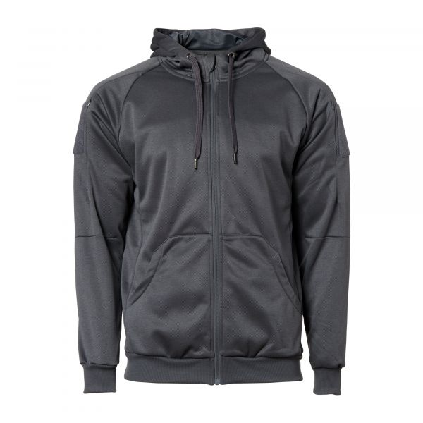 Helikon-Tex Sweat Urban Tactical Full Zip melange black grey