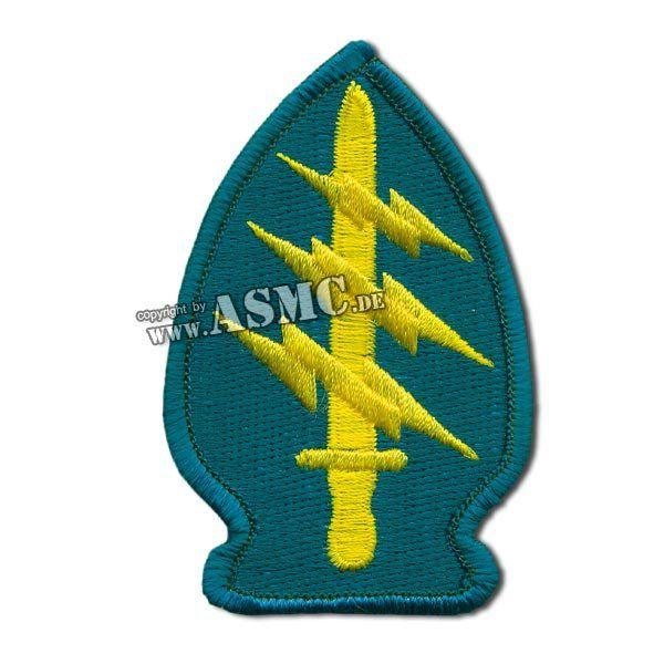 Insigne textile US Special Forces bleu/jaune