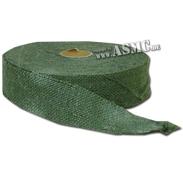 Rouleau de Toile de jute verte