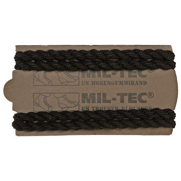 Mil-Tec Élastique de pantalon US 2 paires noir