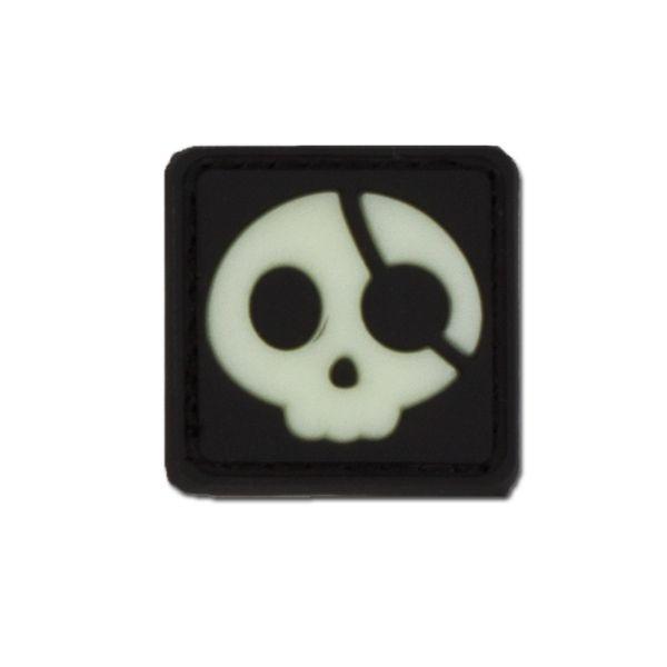 Patch 3D Halloween Pirate luminescent