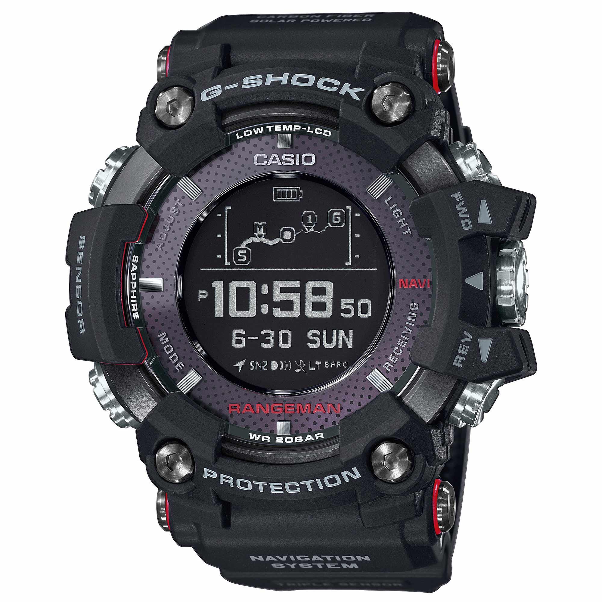 Casio Montre G-Shock Rangeman GPR-B1000-1ER noir