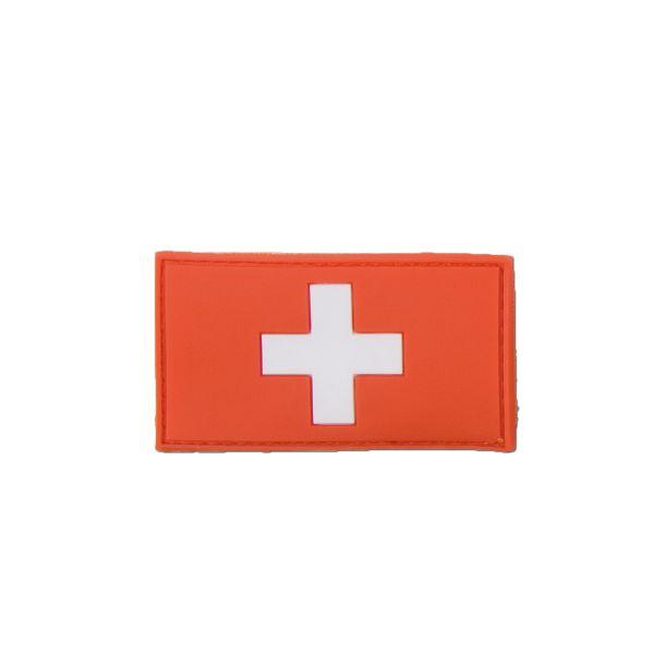 Patch 3D Drapeau Suisse fullcolor